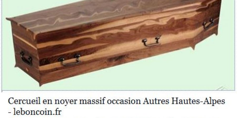 hautes alpes un cercueil a vendre dans le bu ch sur le. Black Bedroom Furniture Sets. Home Design Ideas