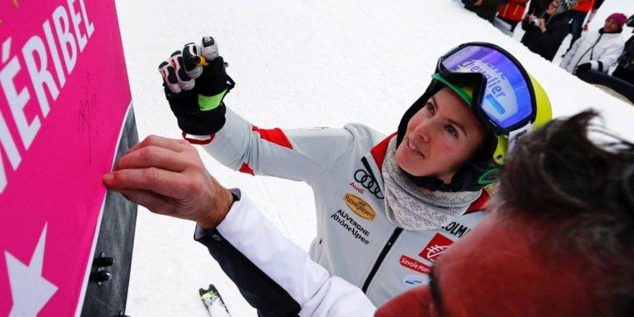 Ski alpin / Coupe du Monde : la satisfaction de Laurie