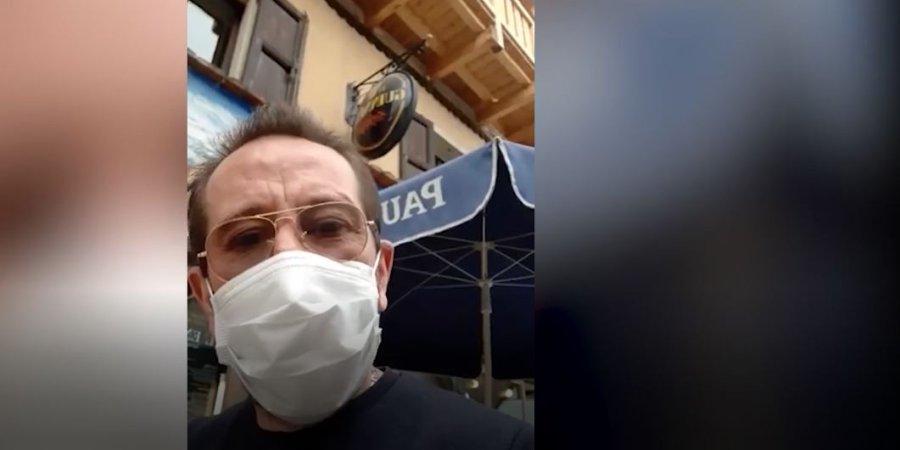Drôles de vies : Thierry Gasquet, le patron emblématique du restaurant l'Endroit à la Salle les Alpes, s'occupe... en cuisinant, et nous enjoint d'être très prudent - www.dici.fr 6