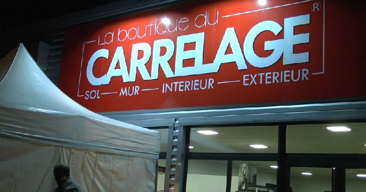 Hautes Alpes Ouverture Du Magasin La Boutique Du Carrelage A La Batie Neuve D Ci Tv Radio