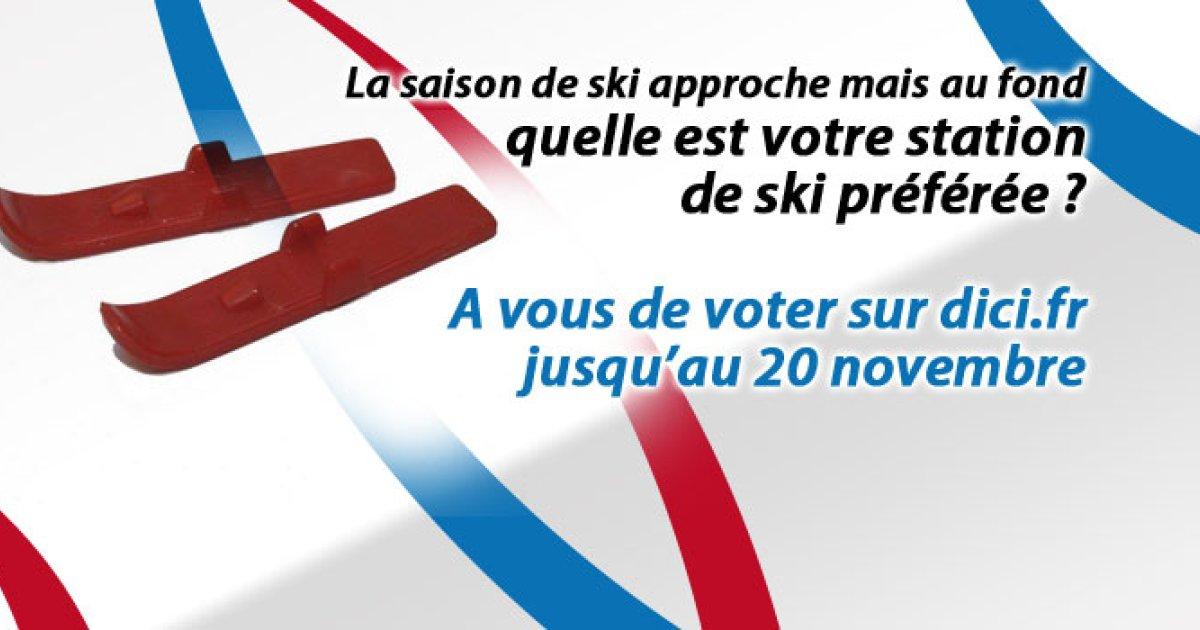 Concours des stations : Plus que quelques heures pour voter. Ce vendredi il n'en restera plus que 8. Pra Loup en tête !