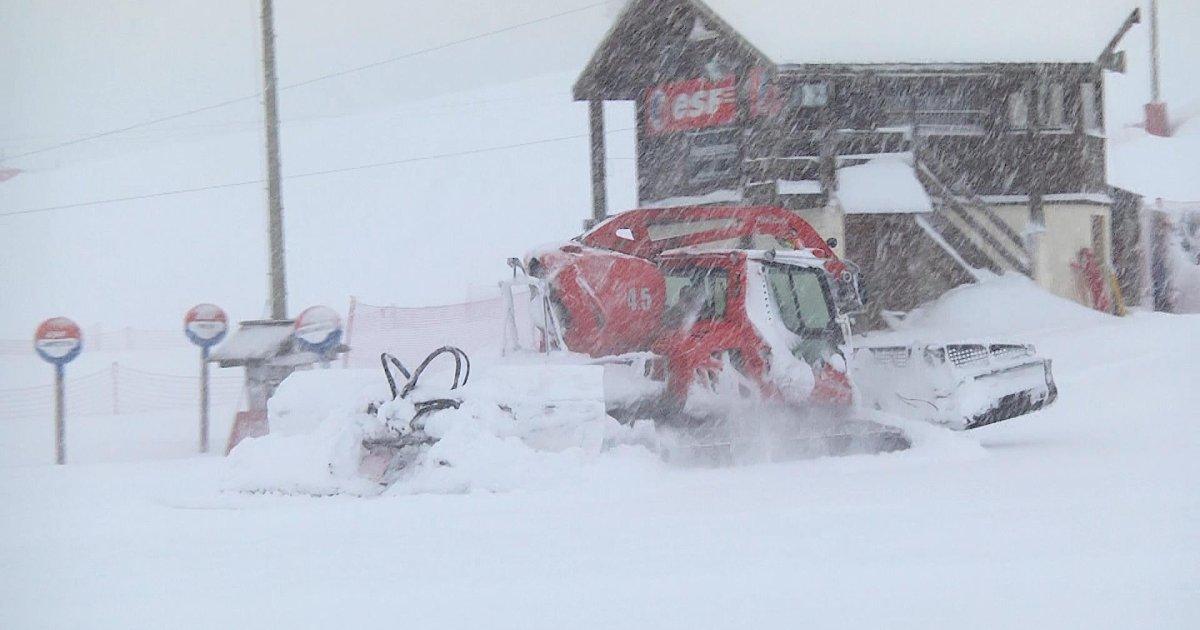 Hautes-Alpes : Le domaine skiable de Montgenèvre encore fermé ce samedi matin