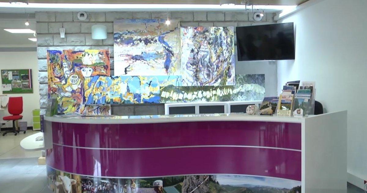 Alpes de haute provence une fresque g ante pour d corer - Office du tourisme alpes de haute provence ...