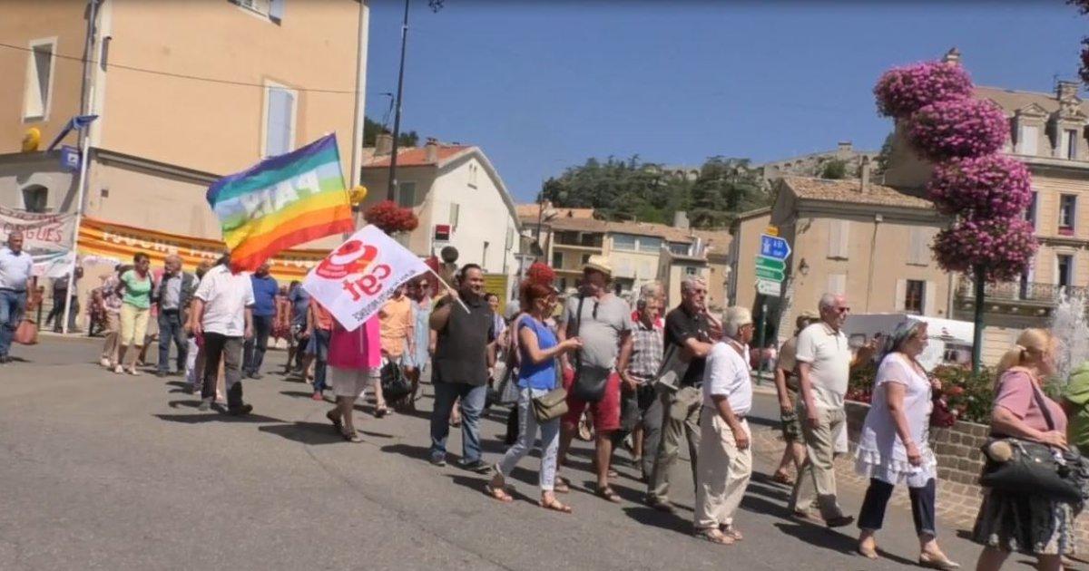 Alpes de haute provence nouvelle mobilisation pour le collectif de d fense du bureau de poste - Bureau de poste la defense ...