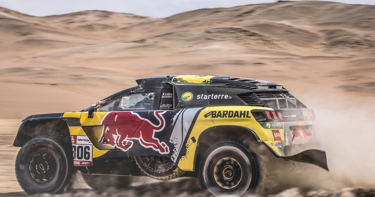 dakar 2019 s bastien loeb et daniel elena ont largement domin l 39 tape 5 d ci tv radio. Black Bedroom Furniture Sets. Home Design Ideas