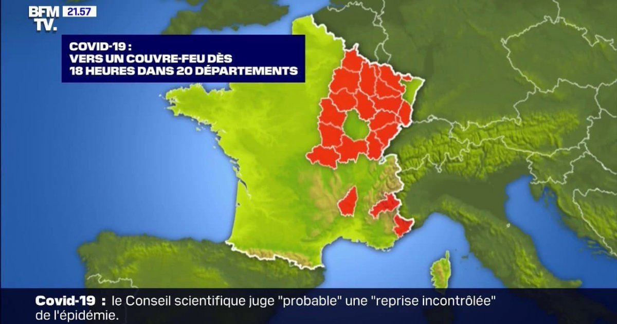 Officiel Les Hautes Alpes Tres Probablement Sous Couvre Feu Des 18 Heures A Partir De Ce Samedi D Ci Tv Radio